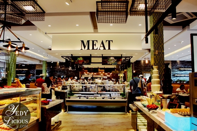 Meat Section at Four Seasons Buffet HotPot City SM MOA