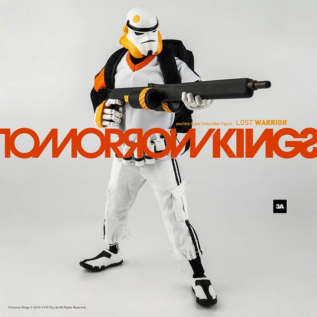 threeA TOMORROW KINGS 系列【Lost Star Warrior TK】1/6 比例人偶作品