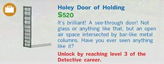 Holey Door of Holding
