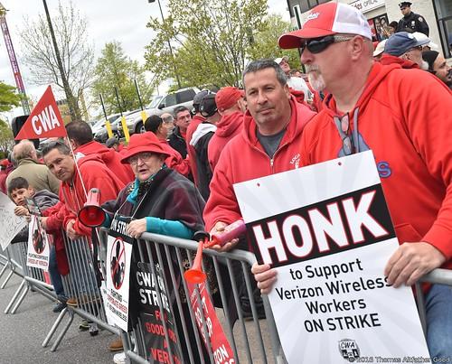 CWA On Strike (4)