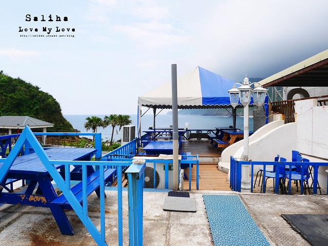 宜蘭蘇澳南方澳情人灣咖啡下午茶海景餐廳地中海casa