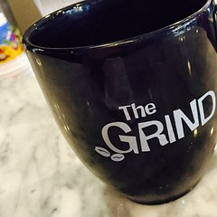 Finishing up a tasty breakfast with some great coffee @TheGrindTampa
