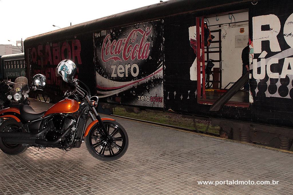 No trem de Paranaguá