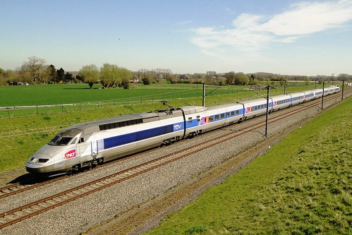 Belgian High Speed - TGV Réseau on it's way to Brussels.