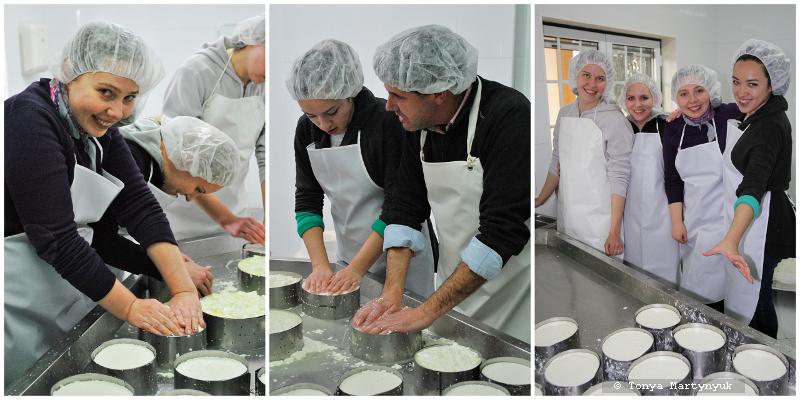 28 - Невероятные приключения москвичек в Каштелу Бранку - quinta - мастер-класс по приготовлению сыра (традиционного португальского)