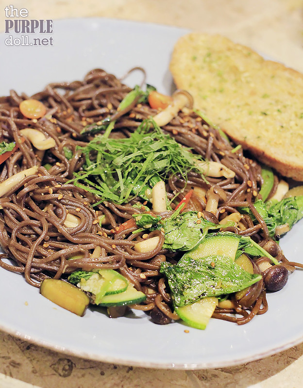 Vegetarian Soba Pasta (P325)