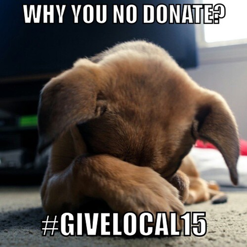 Nadia hopes you'll make a #GiveLocal15 donation today!