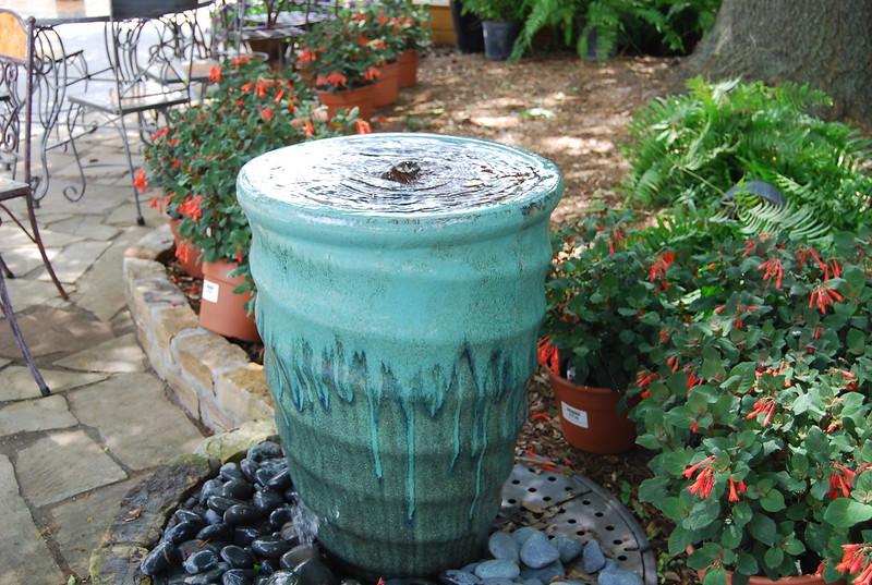 TALL SWIRL PLANTER - WATER SPLASH