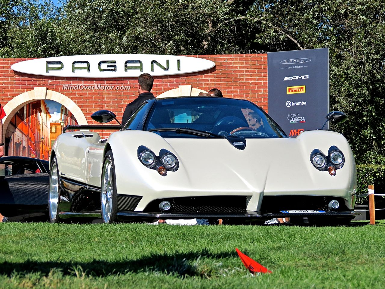Horacio's Pagani Zonda F at The Quail