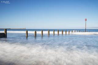 Blyth Beach in sunshine