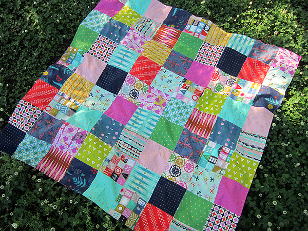 Cotton & Steel picnic blanket