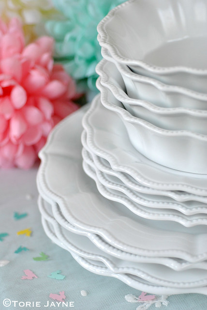 Fluted tableware