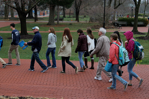 Mosaic Tries Something New: Tagging along on a UD Tour…as a junior