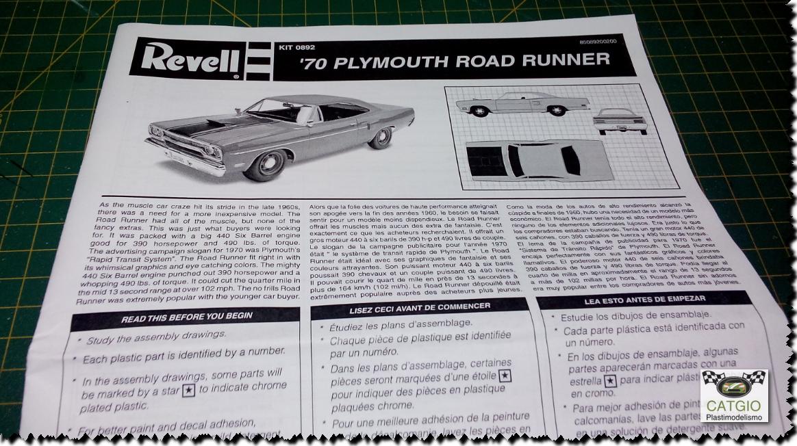 Road Runner 1970 - Monogram - 01/24 - Finaliz 20/05 17101894910_a86612467a_o