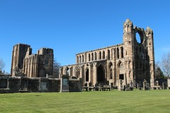 18th April 2015. Elgin Cathedral e