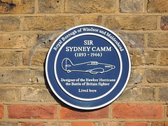Photo of Sydney Camm blue plaque