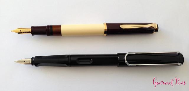 Review Pelikan Classic M200 Café Crème Fountain Pen @AppelboomLaren (5)