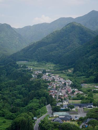 city mountains green japan temple 50mm nikon jp nikkor yamadera 山寺 f18d yamagataken d7000 yamagatashi