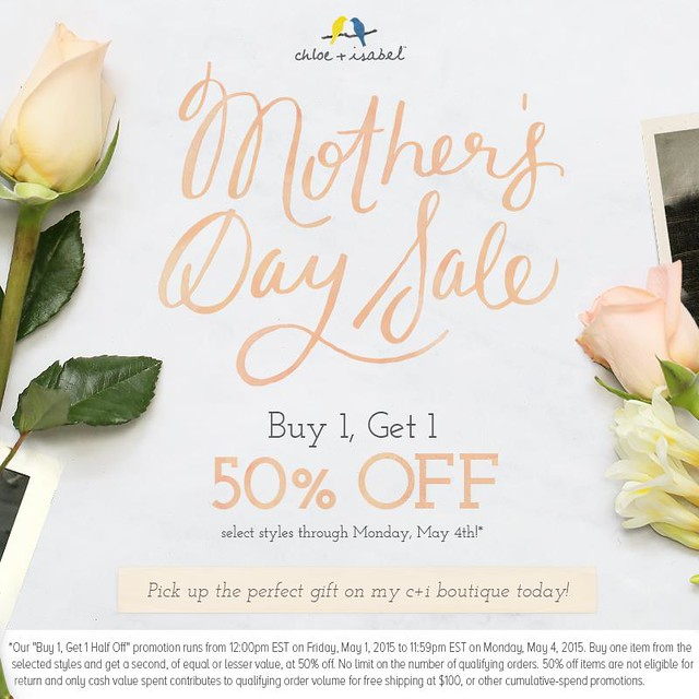 Mother's Day Sale | Chloe + Isabel