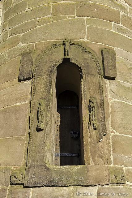 Brechin Round Tower Little Door