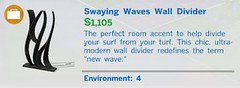 Swaying Waves Wall Divider