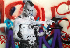 4 Armed Travis Bickle by Street Artist TOVEN