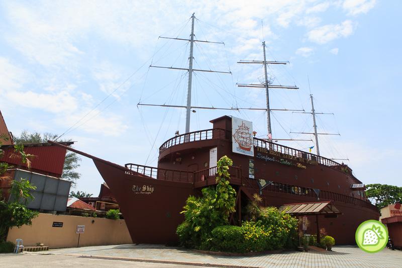 the ship , penang