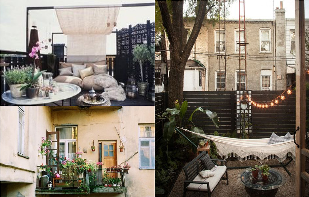Boho outdoor spaces love from berlin for Ideas terrazas economicas