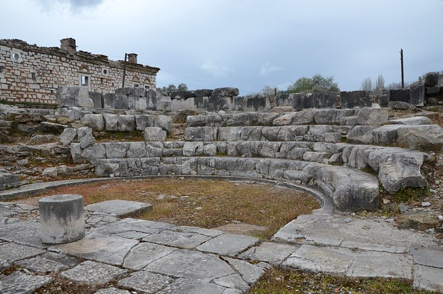 The  Late Hellenistic Bouleuterion, built around 130 BC, Stratonicea Caria, Turkey
