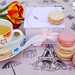 Ladurée x Mikimoto limited edition collaboration macarons
