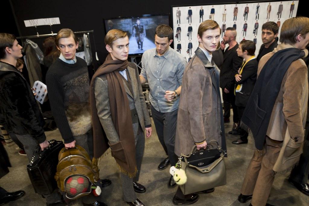 FW15 Milan Fendi258_Alexander Beck, Lewis Chesson-Grieve, Ben Allen, Julius von Lauser(fashionising.com)