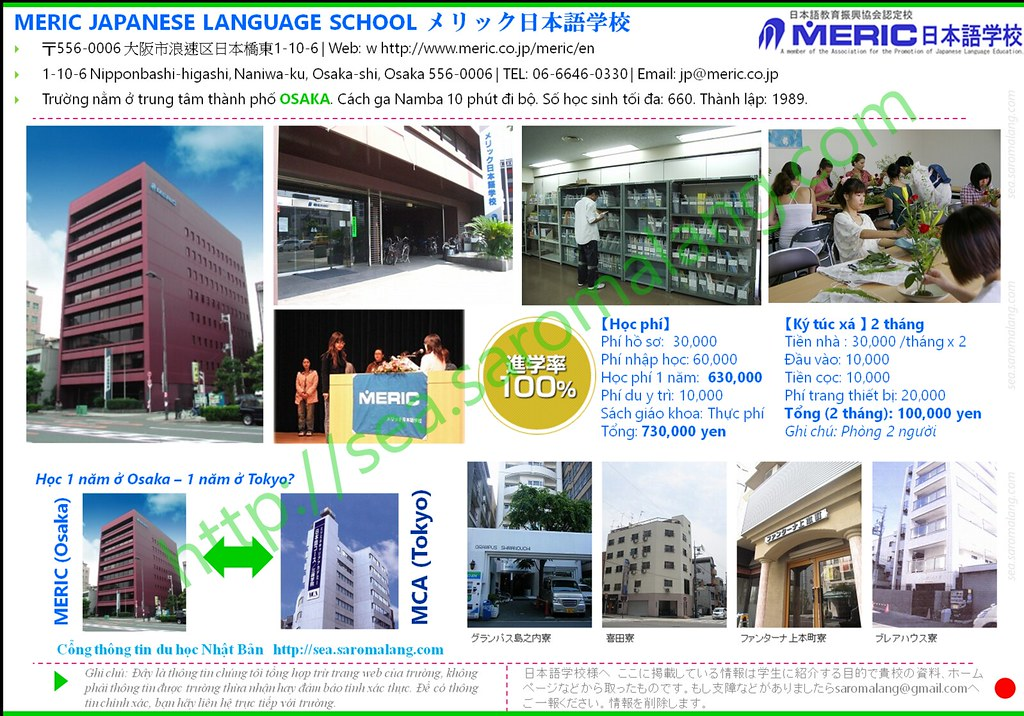 MERIC Japanese Language School - OSAKA City