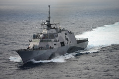 USS Freedom (LCS 1) file photo. (U.S. Navy/MCSN Christopher Frost)
