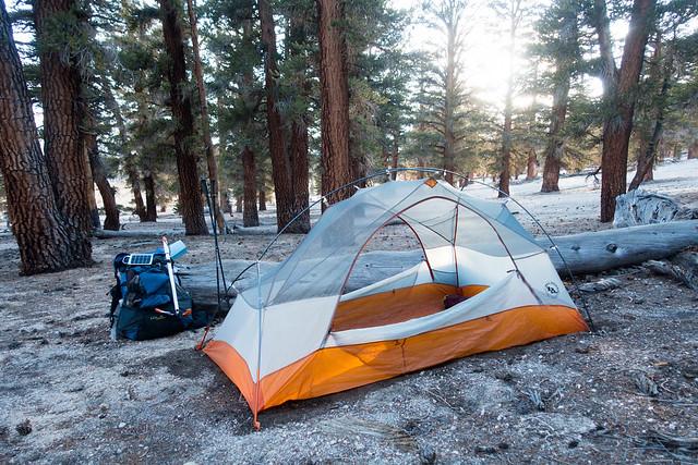 Guyot Flat camp, m763