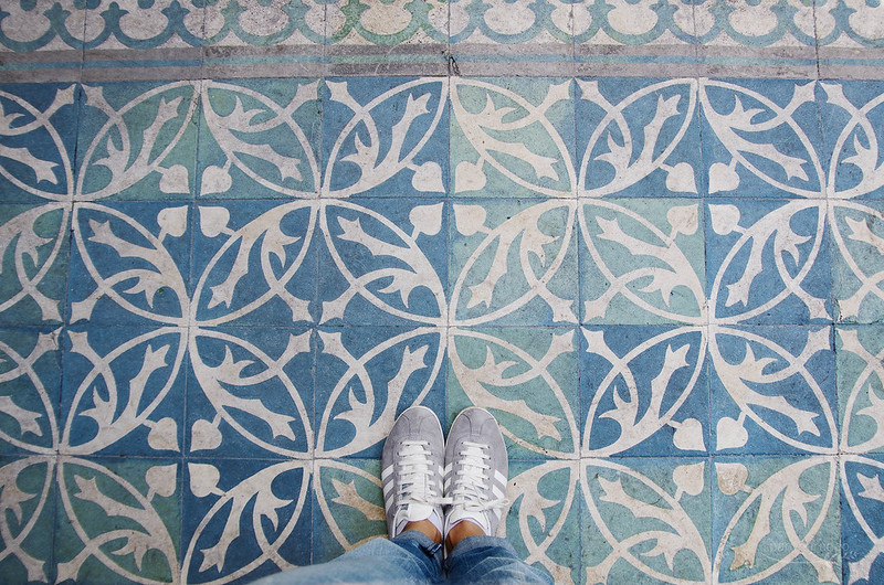 13/ 52 My feet, anywhere in Lisbon