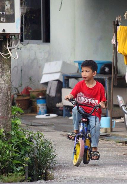 den lokale del af Kuching
