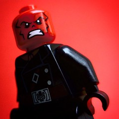 """""""Cut Off One Head, Two More Shall Take It's Place. Hail Hydra!"""" - Red Skull"""