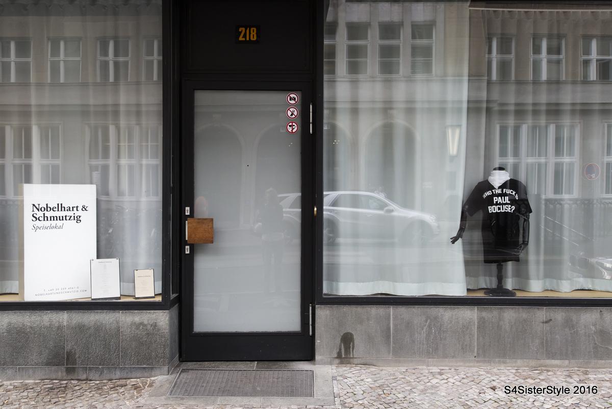 Nobelhart & Schmutzig, Berlin - Outside of the restaurant (2)