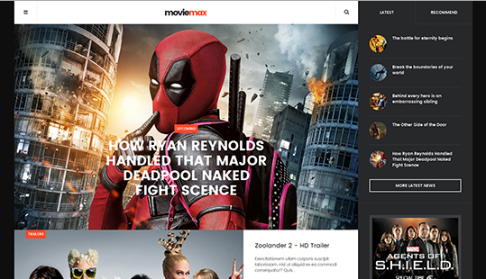 JA Moviemax v1.1.0 – Creative Responsive Movies Joomla 3.x Template