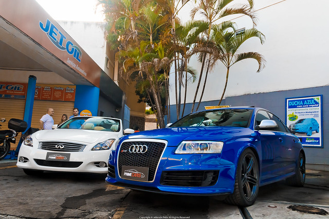 Infiniti G37s & Audi RS6 Sedan