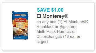 El Monterey Signature Burritos