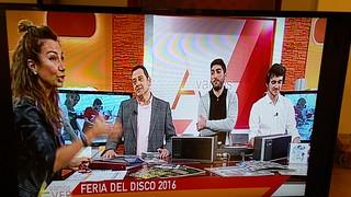 """""""Vamos a ver"""" con Cristina Camell. 31ª Feria Internacional del Disco de Valladolid Castilla y León."""