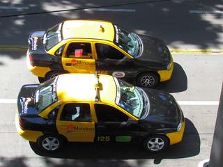 Chevrolet Corsa taxis en Argentina