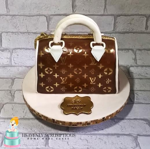 Louis Vuitton Inspired Cake by Iwona Gembala-Sobejko of Heavenly Scrumptious