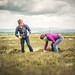 Karine Polwart & Wils Wilson search Fala Moor, Midlothian