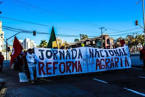 Ocupação do Incra, em Curitiba - Foto: MST/PR