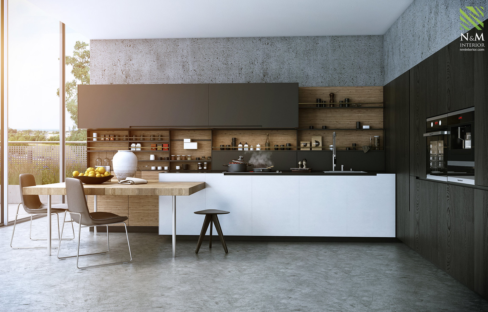 Kitchen poliform phoenix for Cocinas contemporaneas 2015