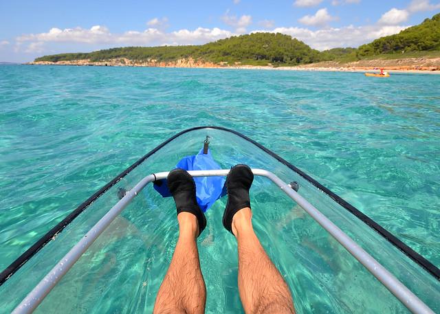 Playas como piscinas en Menorca