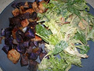 Blue Flannel Hash; Caesar Salad (HIAV)
