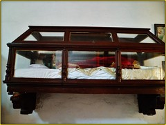 automotive exterior(0.0), shelf(0.0), window(0.0), coffee table(0.0), table(0.0), furniture(1.0), wood(1.0), display case(1.0), bed(1.0),